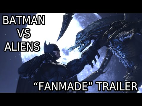 "Batman vs Aliens ""fanmade"" teaser trailer"