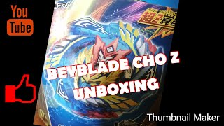 (BEYBLADE CHO Z VALKYRIE UNBOXING###)