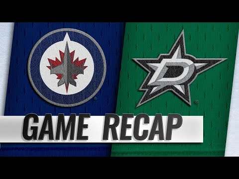 Seguin, Benn power Stars past Jets, 5-1