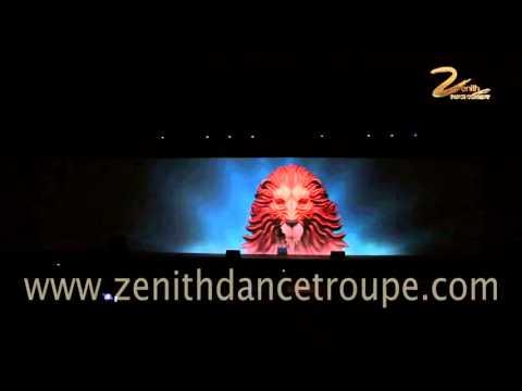 Interactive Performance, 3D Mapping Zenith dance Company New Delhi Mumbai India