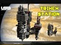 Space Engineers - Massive Station !!! TRIHEX Outpost