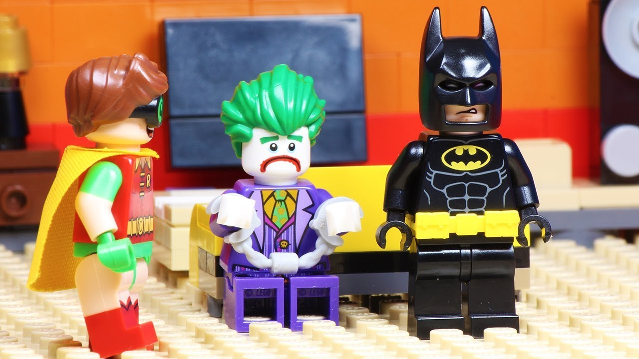 Lego Batman And Joker - Hypnosis Robbery - YouTube