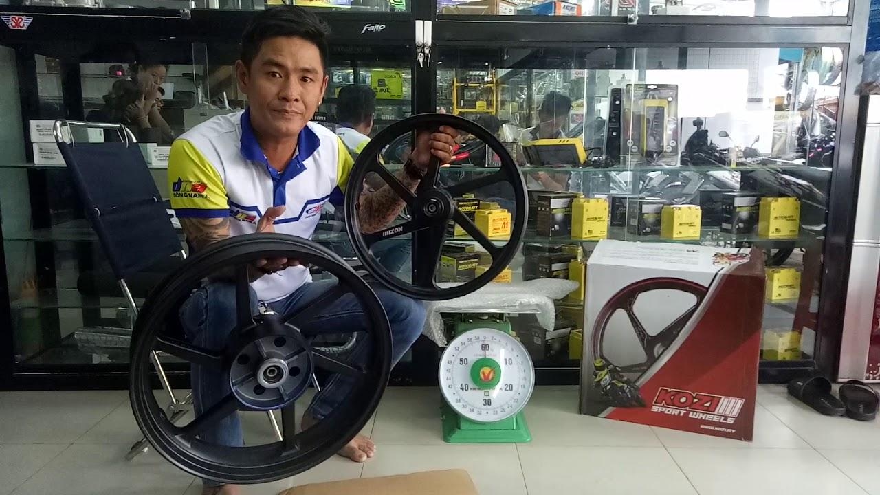 Mâm Honda Winner 150cc của Kozi Malaysia