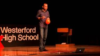 When you laugh, something happens: Dale Williams at TEDxWesterfordHighSchool