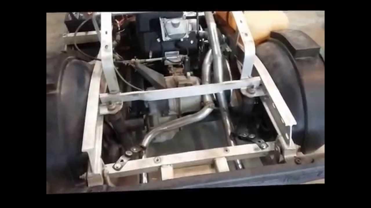 Club Car Golf Cart with big block Subaru 28 HP EFI Engine
