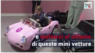 Mini auto al posto delle barelle
