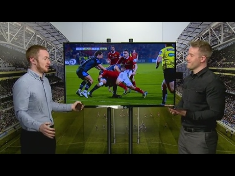 'There's no place for it in the game' - Luke Fitzgerald calls on Nigel Owens to stop using witty ...