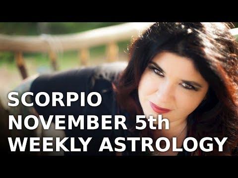 The week ahead for scorpio