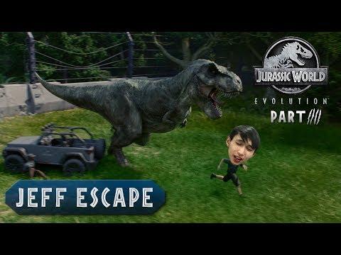 JEFF ESCAPE (SingSing Jurassic World Evolution #4)
