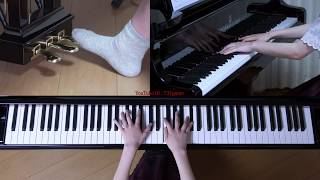 使用楽譜:ぷりんと楽譜・上級、 採譜者:未記載、 2019年2月11日 録画.