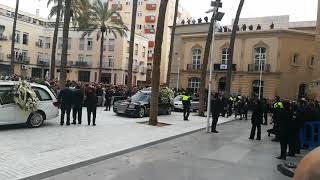 Funeral del pequeño Gabriel Cruz en la Catedral de Almería
