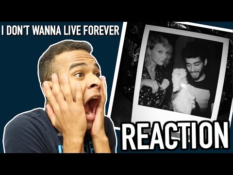 """ZAYN & TAYLOR SWIFT """"I DON'T WANNA LIVE FOREVER (FIFTY SHADES DARKER)"""" REACTION! Blair Thompson"""