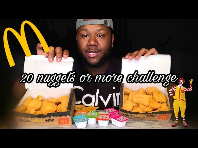 Auzsome Austin Sas Asmr Mcdonald S Chicken Nugget Challenge Lets Support Each Other