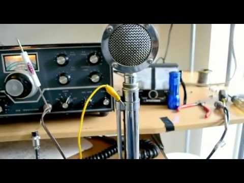 Demonstration of the the Vintage Astatic D-104 Microphone ...
