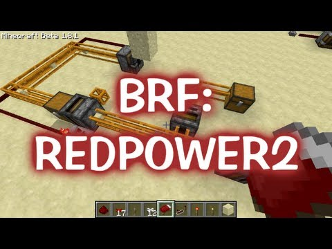 BRFb09: The Incredible Redstone Mod: RedPower!