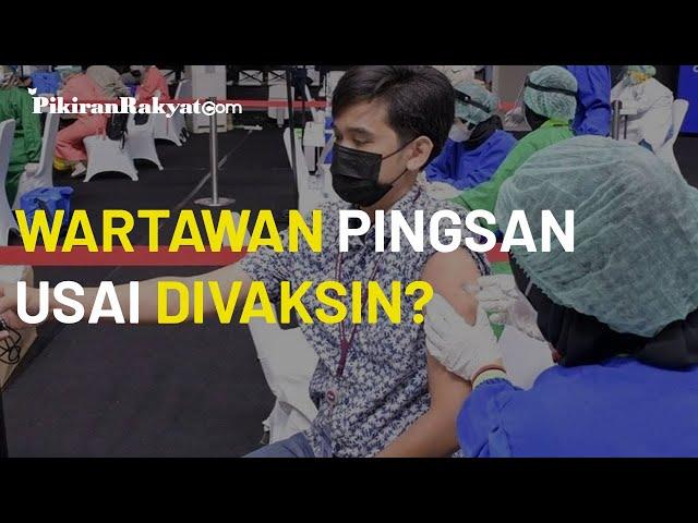 Puluhan Wartawan Dikabarkan Terkapar Usai Vaksinasi Covid-19, Jubir Kementerian Kesehatan: Hoaks