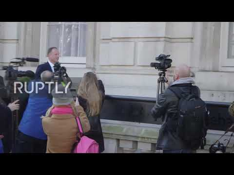 UK: Ministers And Officials Arrive For Cobra Meeting On Coronavirus