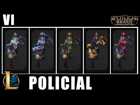 Vi Policial - Chroma Skin