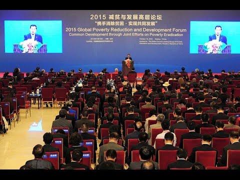 Hun Sen Prime minister of Kingdom of Cambodia in China, 11.17 October 2015 TVK