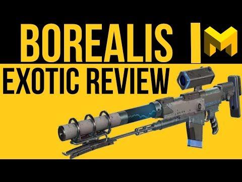Destiny 2 Borealis Exotic Review: Elemental Sniper Rifle