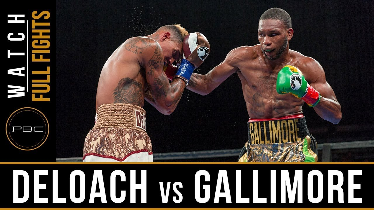 Deloach vs Gallimore FULL FIGHT: July 30, 2017 - PBC on FS1