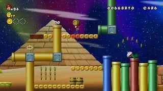 Newer Super Mario Bros. Wii: Summer Sun 100% Walkthrough Part 2 - World 2 (All Star Coins & Levels)
