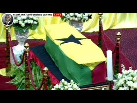 Former UN secretary-general Kofi Annan's Funeral Service, 13 September 2018