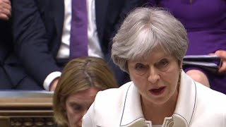 Syria strikes: Theresa May says Britain could not wait for UN approval