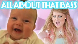 Meghan Trainor - All About That Bass - BABIES DANCING PARODY