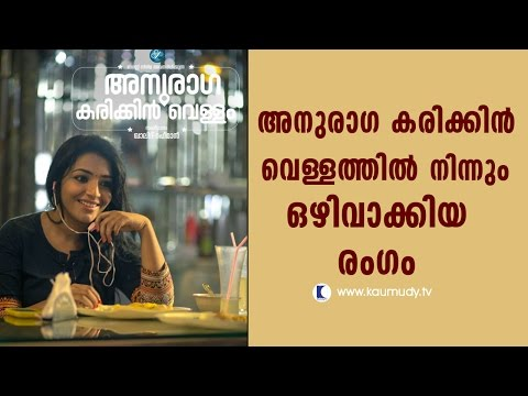 Scene Which Was Deleted From The Movie Anuraga Karikkin Vellam | Kaumudy TV