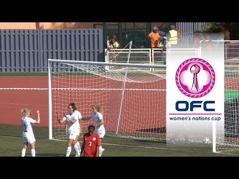 2018 OFC WOMEN'S NATIONS CUP | SEMI-FINAL HIGHLIGHTS | New Zealand v New Caledonia