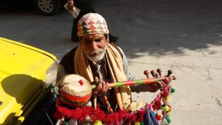 Pakistani street singer