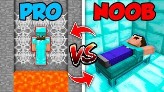 Minecraft NOOB vs. PRO : SWAPPED TRAP LIFE in Minecraft (Compilation)