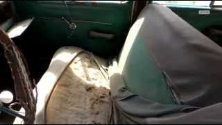 Ретро-автомобиль. ГАЗ-М-20 ''Победа''  до реставрации