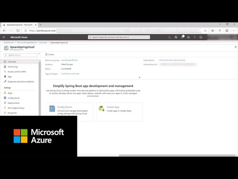 How to use Azure Spring Cloud | Azure Tips and Tricks