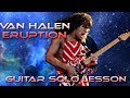 How To Play Eruption By Van Halen Guitar Solo Lesson W Tabs mp3