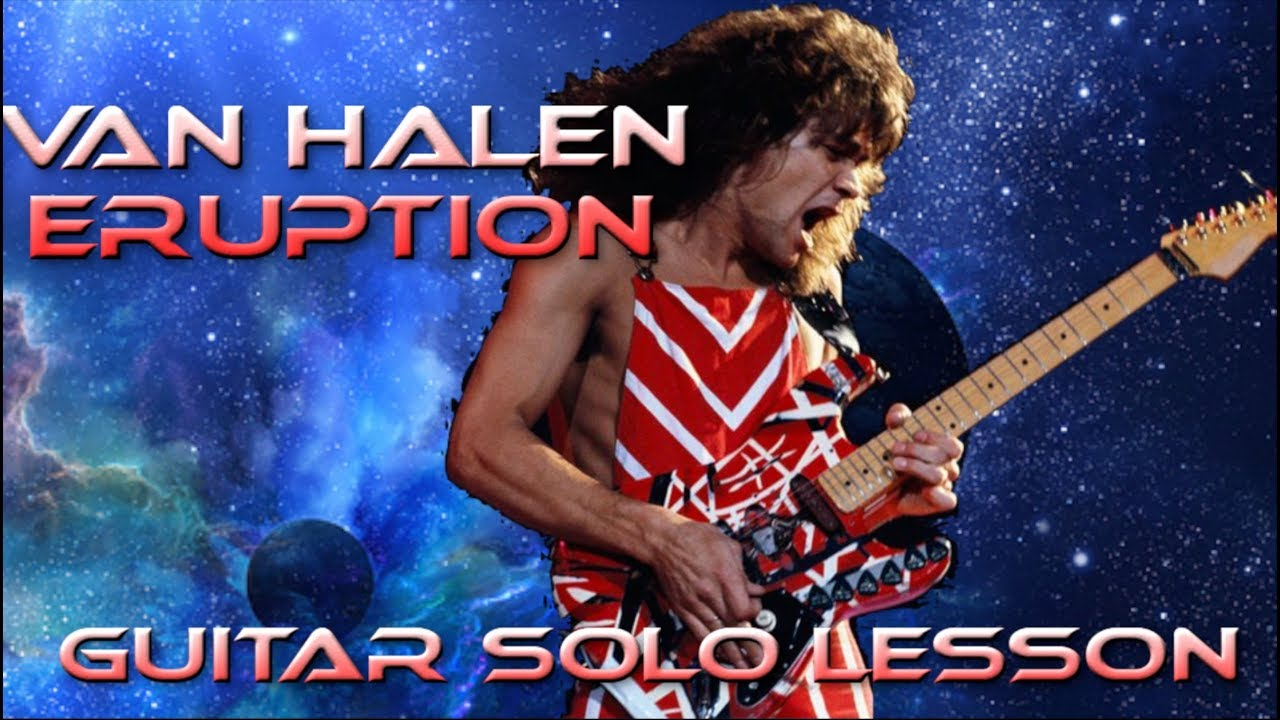 How To Play Eruption By Van Halen Guitar Solo Lesson W Tabs