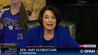 Amy Klobuchar Opening Statement, Amy Coney Barrett Hearings