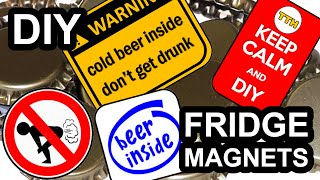Fridge Magnets DIY