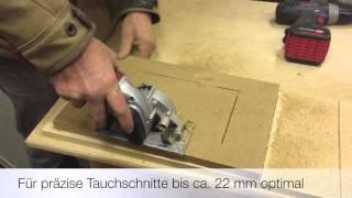 Einhell Mini-Tauchsäge TC-CS 860 im Praxistest