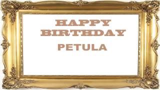 Petula   Birthday Postcards & Postales - Happy Birthday