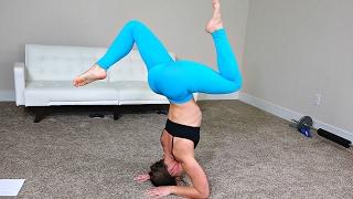 Awesome Yoga Workout + Ab Toning