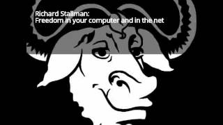 Freedom in your computer and in the net - Richard Stallman (31C3)