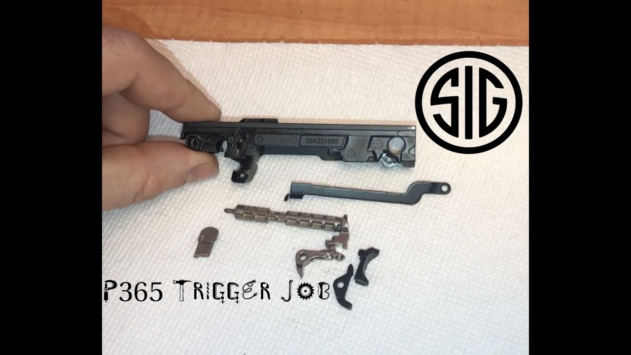 Sig P365 Trigger Job