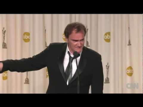 "Raw Video: Quentin Tarantino on ""Django"" Oscar win"