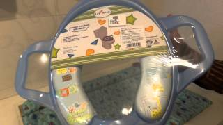 1st Step - Cushion Potty Seat With Handle |Potty toilet seat Review