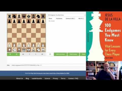 """Review of: """"100 Endgames you must know"""" on Chessable"""