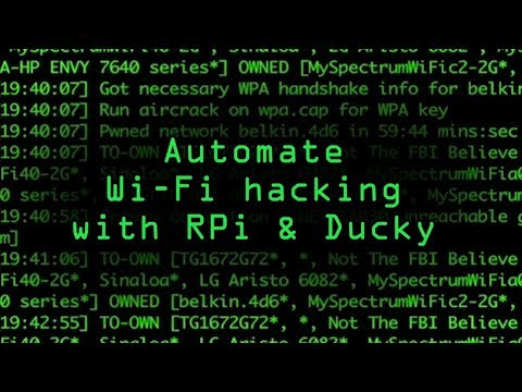 Automate Wi-Fi Hacking on a Raspberry Pi with a USB Rubber Ducky
