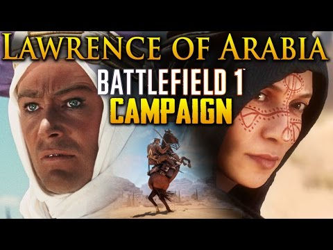 Battlefield 1 | Lawrence of Arabia Campaign | Livestream (1440p)