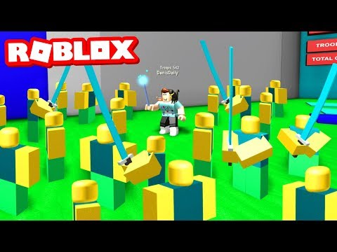 Making the BIGGEST ARMY! - Roblox Army Control Simulator